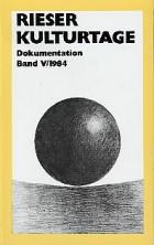 Dokumentationsband V / 1984
