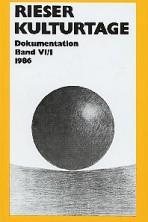 Dokumentationsband VI / 1986