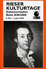 Dokumentationsband XIII / 2000