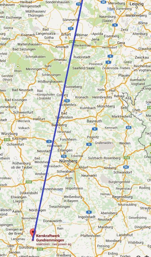 """Die """"Monstertrasse"""" durchschneidet nordbayrische Landschaften"""