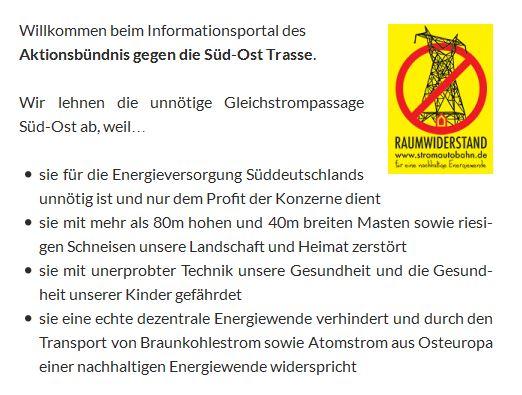 Diese Infos stammen vom Infoportal Stromautobahn.de