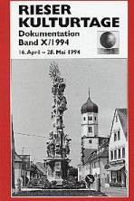 Dokumentationsband X / 1994