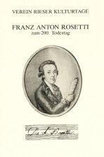 Franz Anton Rosetti zum 200. Todestag