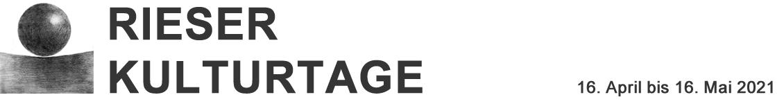Rieser Kulturtage 2021